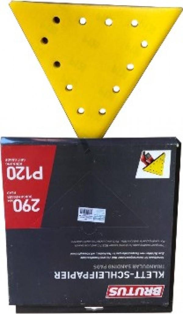 Brúsny papier  P120/10ks-TRIANGLE