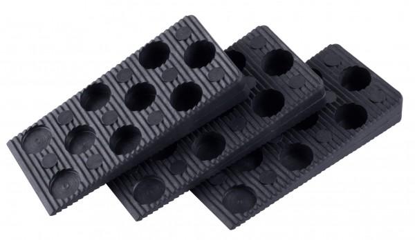 Montážne kliny plastové 95x45x15-0mm/50ks