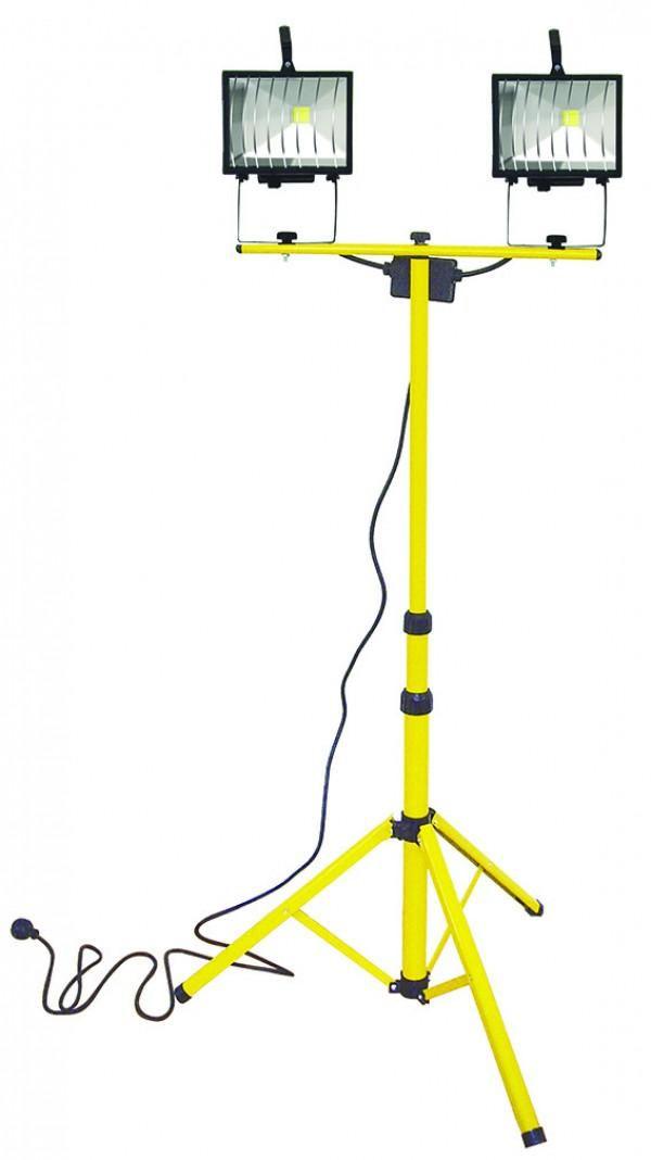 LED svetlo 2x20W na statíve