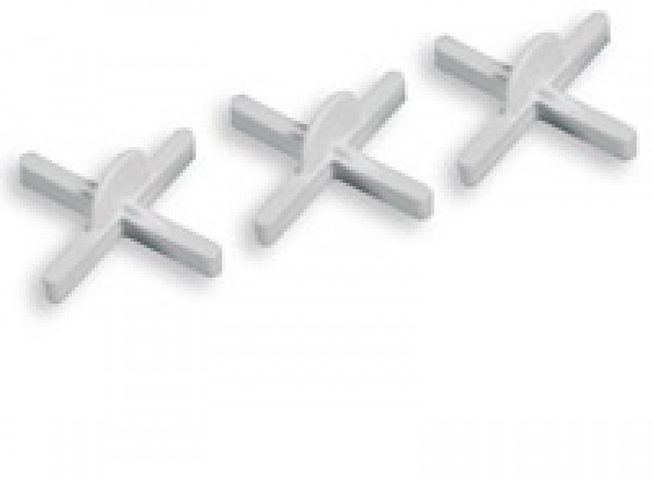 Krížik distančný s krúžkom 2 mm/100ks