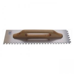 Hladítko nerez 500x130mm, zubové 6x6mm