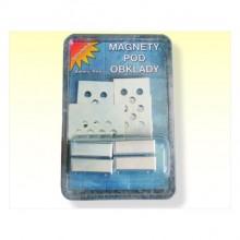Magnety pod obklad 4 ks -38920