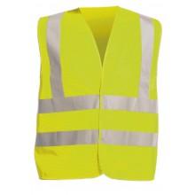 Reflexná vesta HV, žltá