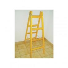 Drevený rebrík dvojitý - 7-priečkový